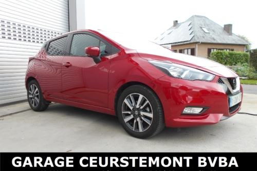 Nissan Micra N-Connecta IG-T 90 PK Benzine Euro6c PASSION RED